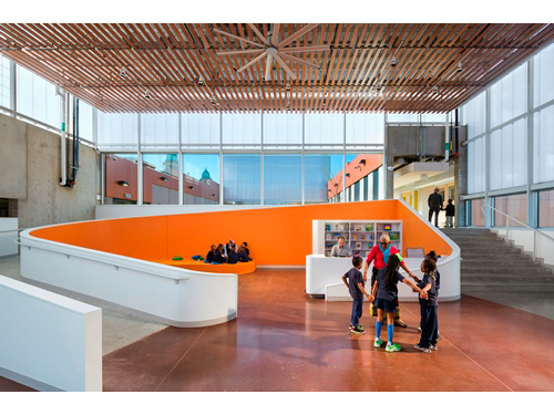 Designed by Rogers Partners, The Henderson-Hopkins School in Baltimore was selected as a 2016 recipient of an AIA Institute Honor Award for Architecture.