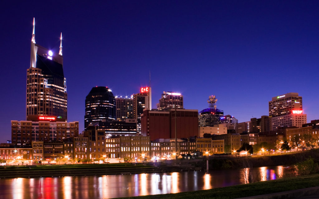 Tech firms are being drawn to smaller cities like Nashville.