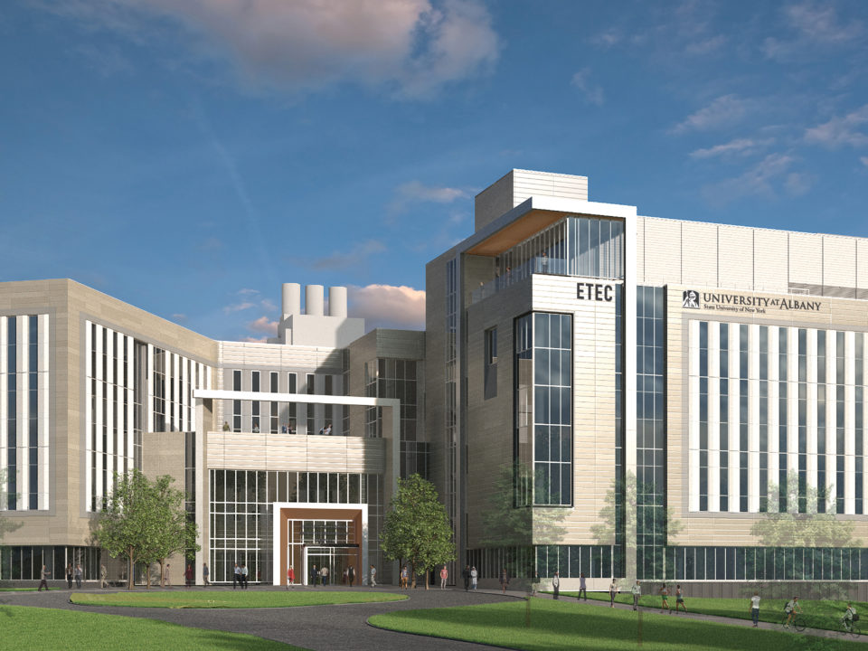 Rendering of the University of Albany ET