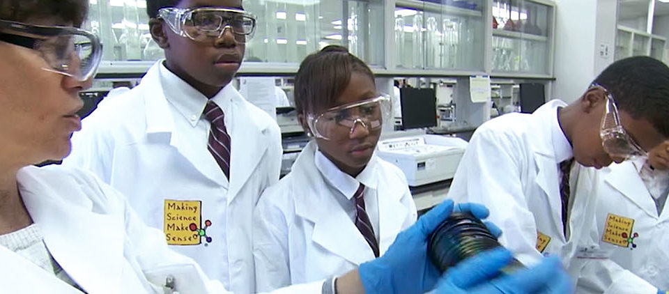 Students at S2S labs.