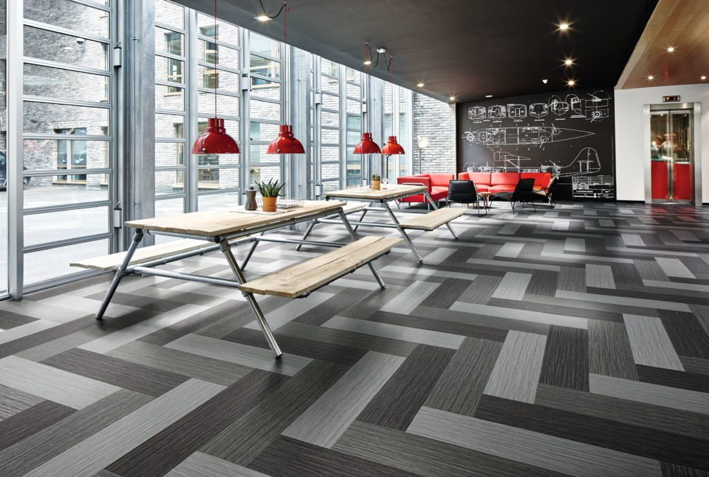 Forbo Flooring Systems Introduces A New Collection Of High Performance Flotex Modular Tile Creating Era For Interior Design In Education Healthcare