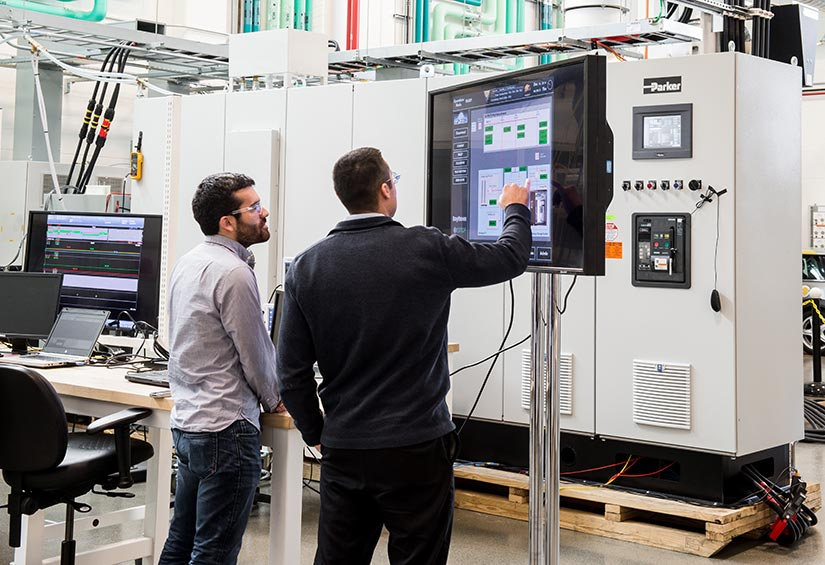 System-level testing on a simulated microgrid