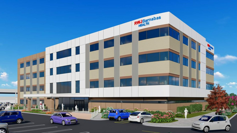 Rendina HRE healthcare services facility at Monmouth Mall