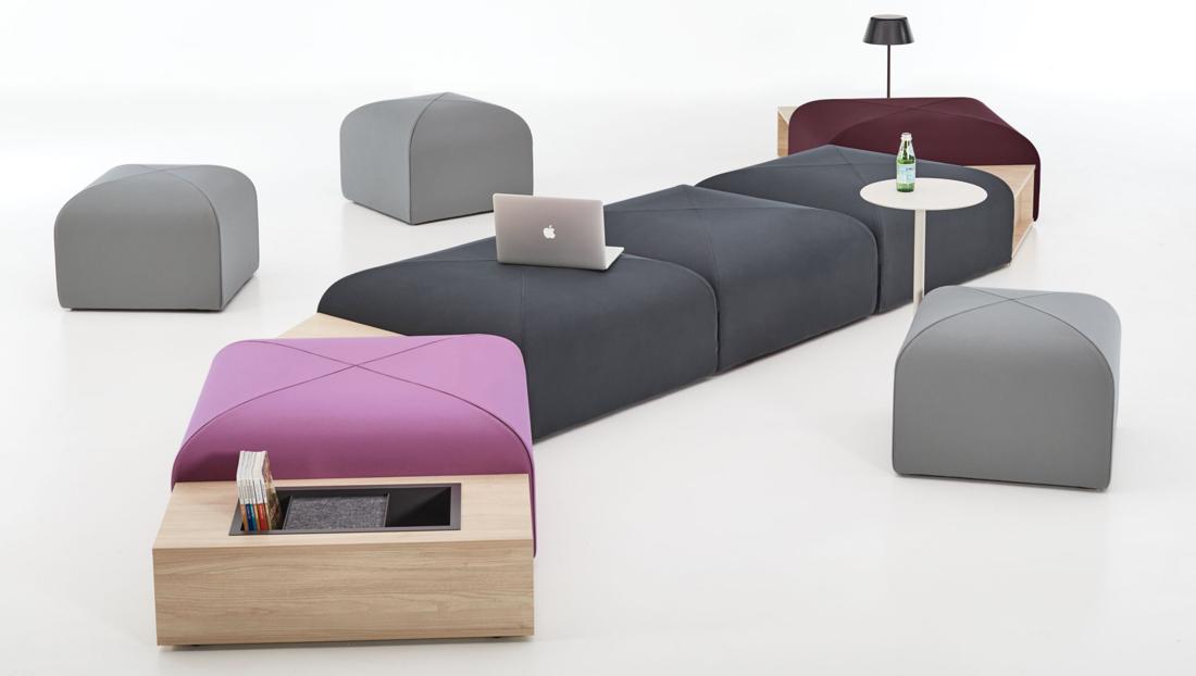 Teknion Bonds modular seating system
