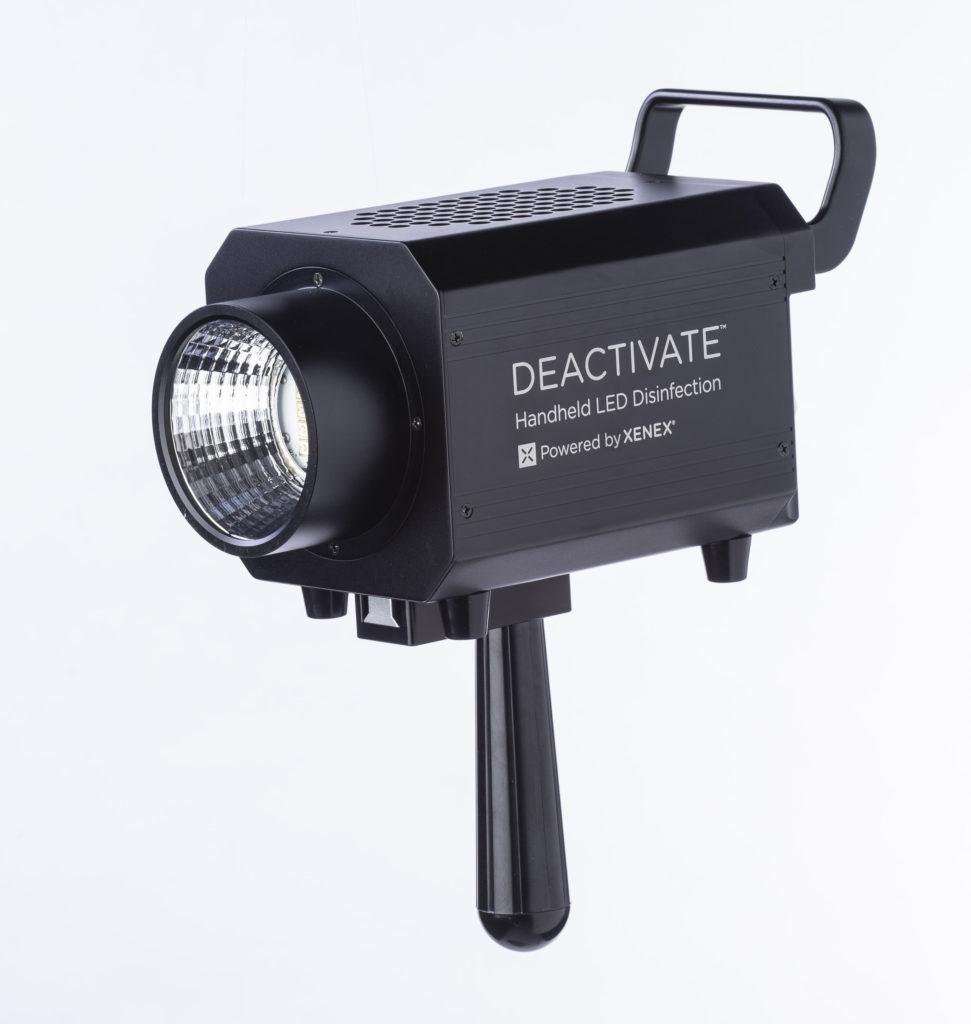 Xenex Deactivate handheld LED / UV disinfection device