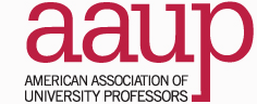 AAUP logo for campus police report