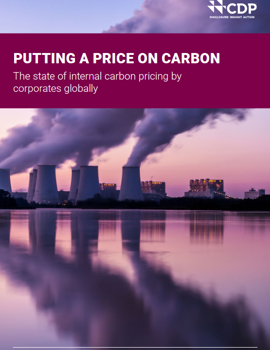 CDP report on carbon costs