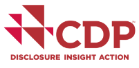 CDP logo for cities against climate threats