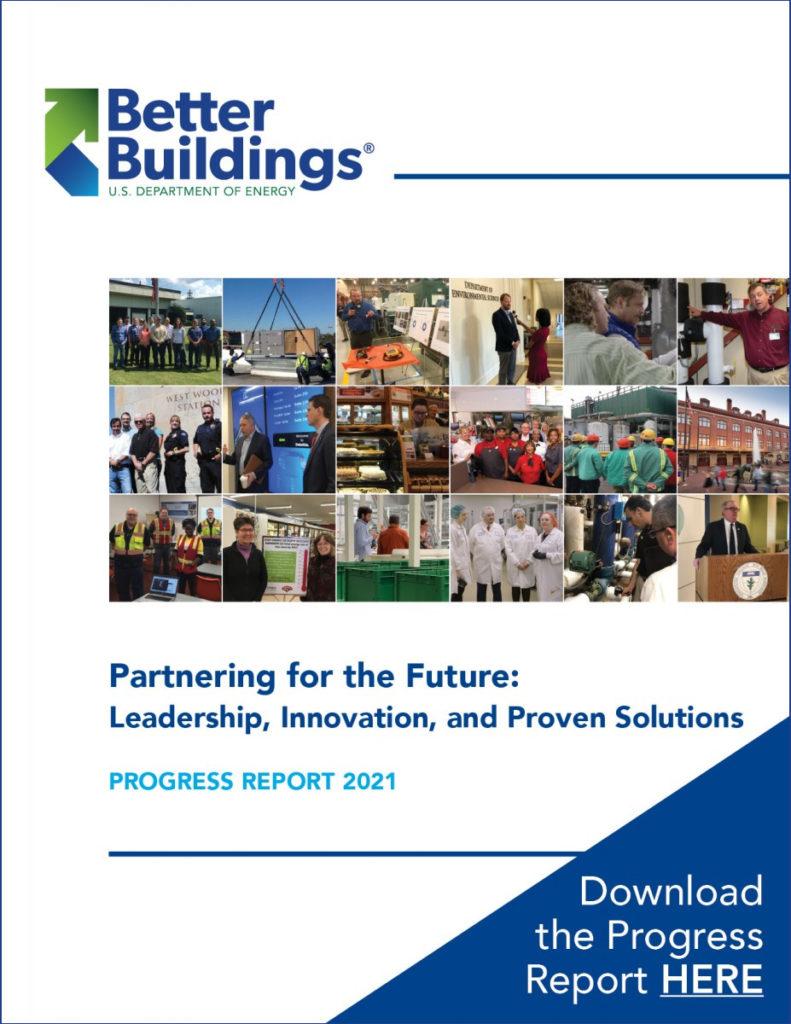 DOE 2021 Better Buildings Progress Report on building energy efficiency